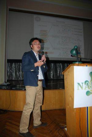 Під час роботи конференції NAP, 2012 (Алушта, Україна, 2012)