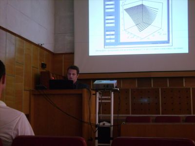 """Доповідь аспіранта Тищенка К.В. на конференції """"Моделювання 2010"""" (Інститут проблем моделювання в енергетиці ім. Б.Є. Пухова, 2010 р.)"""