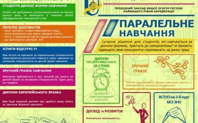СумДУ запрошує студентів усіх ВНЗ України на паралельне навчання